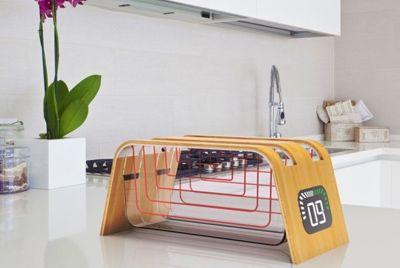 Стеклянный эко-тостер
