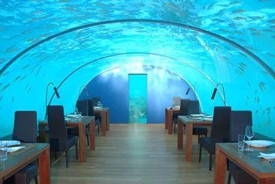 В Индии открылся подводный ресторан