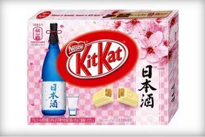 В Японии будут продавать KitKat со вкусом саке