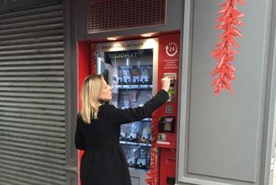 В Париже появился автомат по продаже мяса