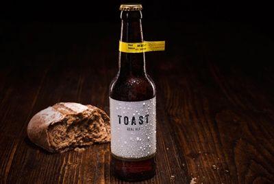 Пиво с добавлением  остатков хлеба