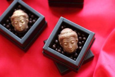 В Японии выпустили шоколад в форме головы Будды