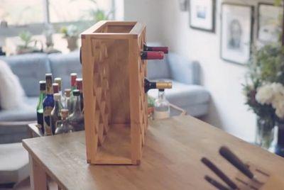 Подставка для вина от фокусника