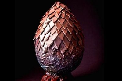 Драконье яйцо из шоколада