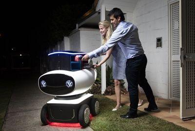 В Новой Зеландии пиццу будут доставлять роботы
