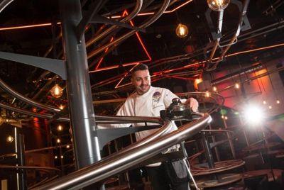 В Великобритании будет открыт ресторан с американскими горками