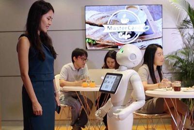 Робот будет работать официантом в пиццерии