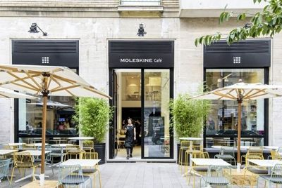 Moleskine открывает кафе в Милане