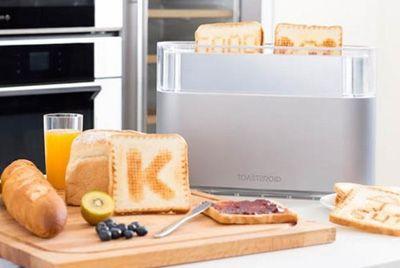 Тостер, позволяющий готовить творческий завтрак