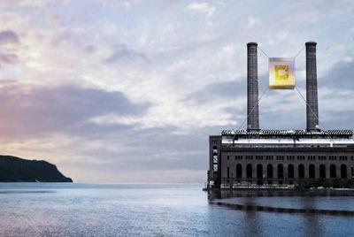 В Нью-Йорке появится стеклянный подвесной ресторан