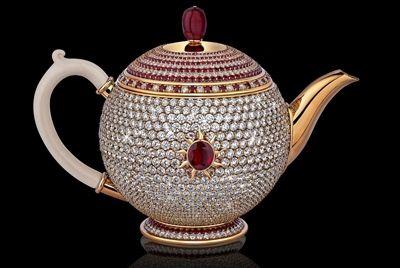 Самый дорогой в мире заварочный чайник стоит 3 млн. долларов