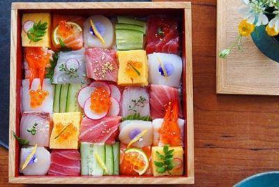 Мозаика из суши – новый тренд в Японии