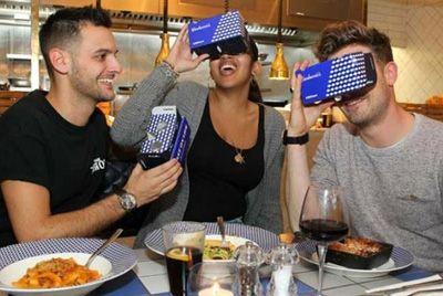 Итальянский ресторан предлагает путешествие в виртуальную реальность
