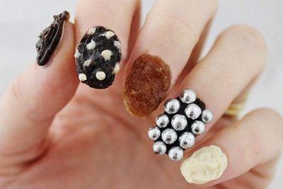 В Новой Зеландии сделали шоколадные ногти
