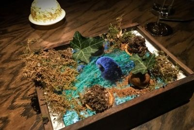 Ресторан подаёт трюфели на экране iPad