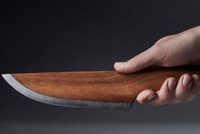 Немецкая компания разработала деревянные ножи