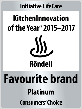 Röndell Favourite brand KITCHEN INNOVATION of the Year 2017