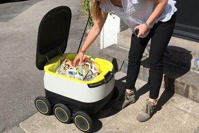 Роботы-курьеры будут доставлять еду