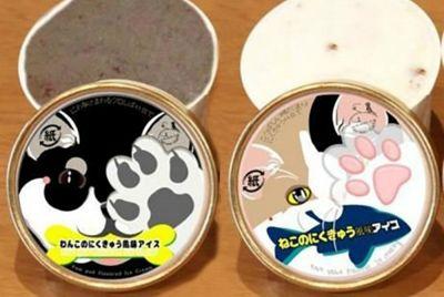 Выпущено мороженое, повторяющее текстуру и аромат лапок котов и собак