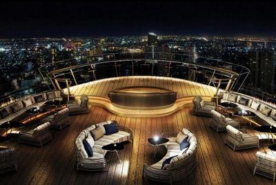 В Бангкоке открыт самый высокий виски-бар