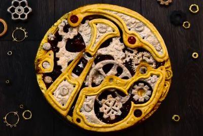 Пирог в стиле стимпанк
