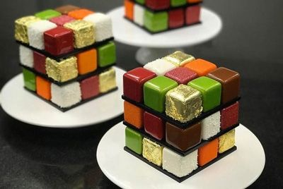 Торт – кубик Рубика