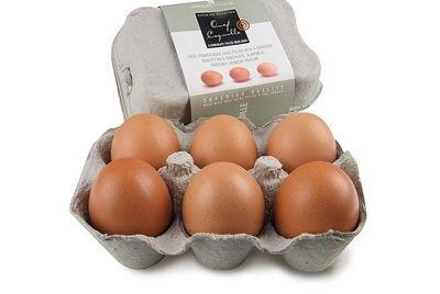 Шоколадные яйца в обычной яичной скорлупе
