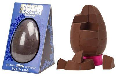 Выпущены первые в мире цельные шоколадные яйца