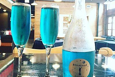 В Италии создали вино голубого цвета