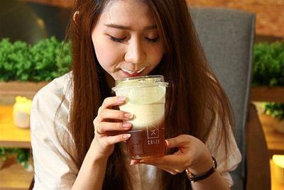Чай со сливочным сыром набирает популярность в Китае