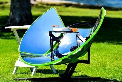 Портативная печь, работающая от солнечной энергии