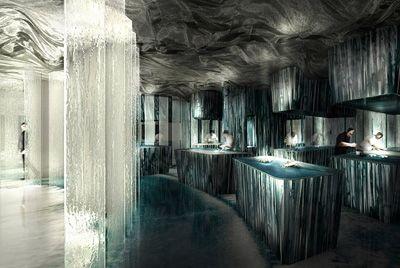 В Барселоне открылся необычный ресторан Enigma