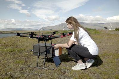 В Исландии будут использовать беспилотники для доставки еды