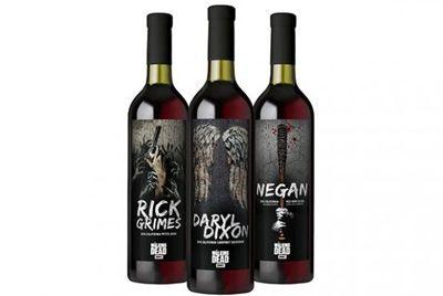 Вино в честь сериала «Ходячие мертвецы»