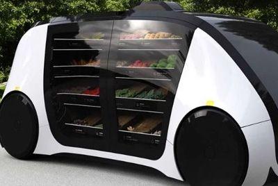 В Калифорнии появятся беспилотные роботизированные магазины