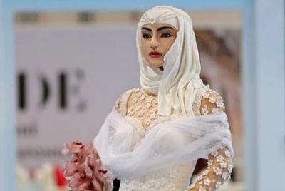 В Дубае создали 120-килограммовый торт в виде невесты стоимостью 1 миллион $