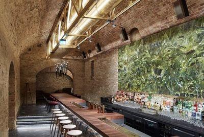 Венский подвал 18 века был трансформирован в подземный бар