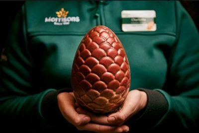 В британских супермаркетах появились пасхальные «драконьи» яйца из «Игры престолов»