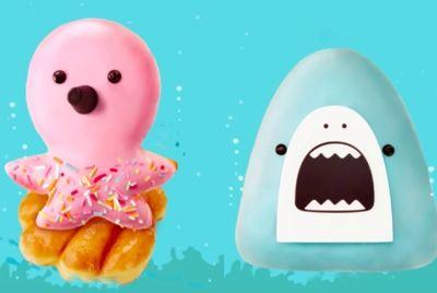 В Южной Корее можно полакомиться «морскими» пончиками
