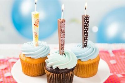 Съедобные свечки для праздничного торта
