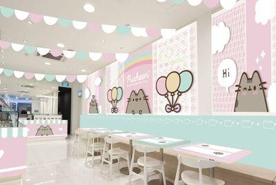 В Сингапуре откроется первое в мире кафе, посвященное знаменитой кошке Pusheen