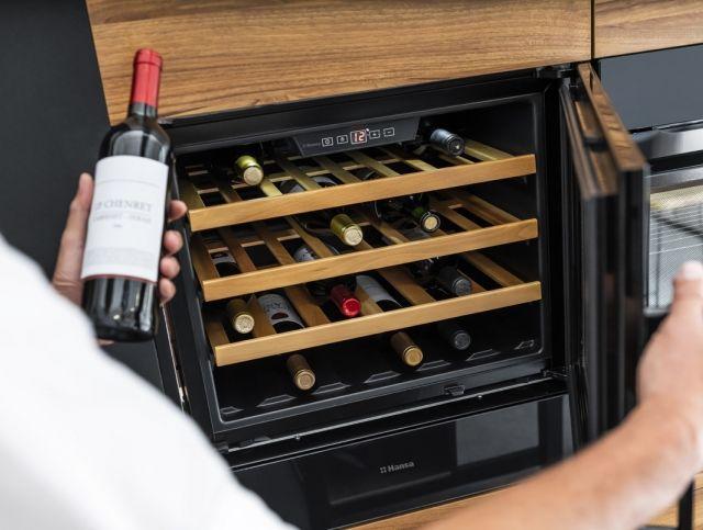 Коллекция винных шкафов от Hansa