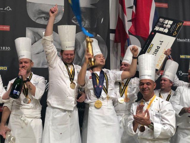 Дания стала победителем конкурса Bocuse d'Or 2019