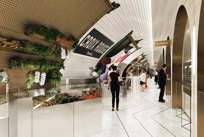 Заброшенная станция парижского метро превратится в подземный рынок и фуд-корт