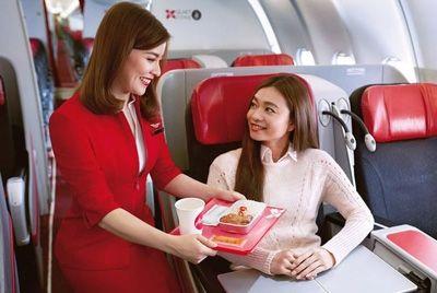 Малайзийская авиакомпания планирует открыть фаст-фуд ресторан на борту