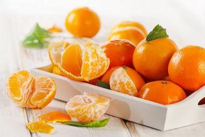 Мандарины помогают сбросить лишний вес
