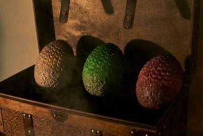 В честь финального сезона «Игры престолов» выпустят килограммовые шоколадные яйца драконов