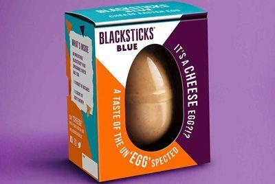В Великобритании представили пасхальное яйцо из голубого сыра