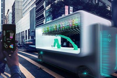 Роботизированный бар доставит напитки в любое место
