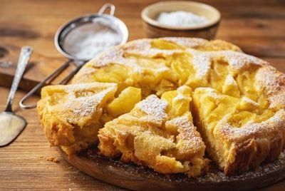 Во Франции испекли гигантский яблочный пирог